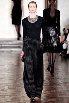 Ralph Lauren Fall 2012 Ready-to-Wear Fashion Show - Sigrid Agren