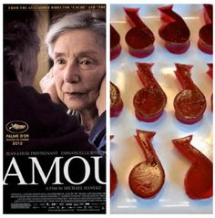 Amour with musical jello :: Oscars theme party #recipe #jello #musicnotes #AcademyAwards
