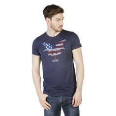 Trussardi 2AT02F Men's Graphic T-Shirt