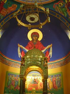 Dedicated to Our Lady of the Patronage, St. Mary Byzantine Catholic Church in Johnstown, PA was founded on October 7, 1895. It was modeled on the ancient church of Hagia Sofia in Constantinople.