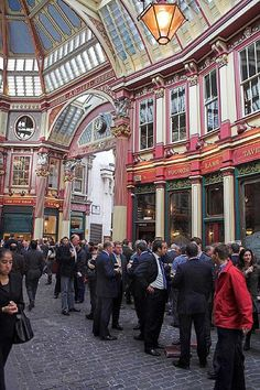 Friday lunch time in Leadenhall  Market in the City of London The Wealth Advisory has been formed to offer pro-active investment solutions that suit today's financial climate http://www.thewealthadvisory.co.uk