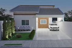 Plano de la casa contemporánea