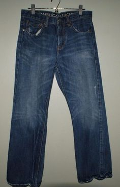 American Eagle Bootcut distressed jeans mens size 31/30 #AmericanEagleOutfitters #BootCut