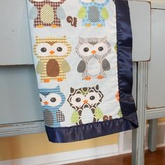 Owl blanket by shelia