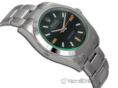 Rolex Milgauss (Green Sapphire Crystal - Black Dial Stainless Steel