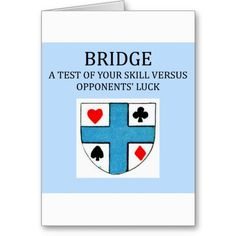 Shop duplicate bridge game player card created by jimhartley.