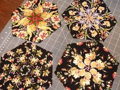 ABB Quilts: One-Block Wonder - Getting started. All of these from one piece of fabric! Love the variations!
