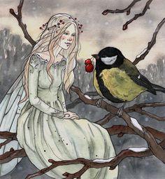 Winter fairy tale by liga-marta.deviantart.com on @deviantART