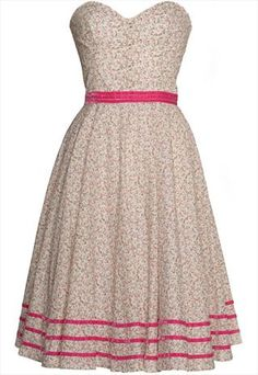 50s Ditsy Print.. i have a pattern for this dress..Now i have another reason to go to the fabric store