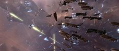 There's something about pictures like these that just make my inner-nerd swell with nerd pride.  Nerds unite! (EVE online)