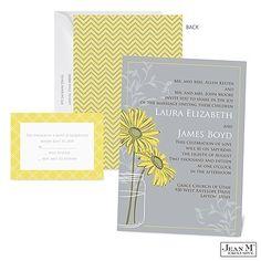 Daisy Daisy Wedding Invitation