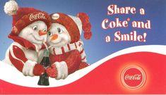 Coke and A Smile Coca-Cola 2005 Snowmen