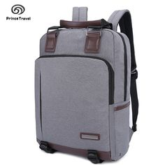 37.75$  Buy here - http://aibfp.worlditems.win/all/product.php?id=32747177385 - Fashion Men Bag Canvas Backpack Women Oxford Travel Bags Retro Backpacks Teenager School Bag Women Famous Brands Mochilas T68203