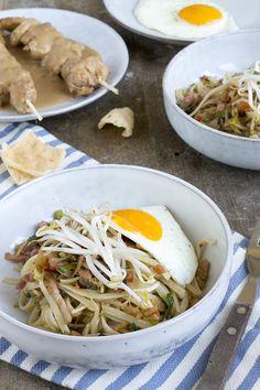 Bami Goreng recept (Ik laat de kaneel weg)
