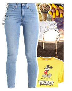 """Be you ."" by slayed-fashion ❤ liked on Polyvore featuring Rolex, NIKE, MICHAEL Michael Kors and Disney"