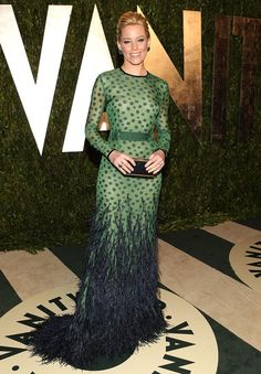 Elizabeth Banks in Chadwick Bell at the 2012 Vanity Fair Oscars Party