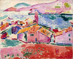 Matisse:  Les toits de Collioure, 1905
