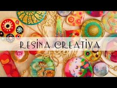 Cómo preparar la mejor resina sin burbujas - YouTube Decoupage, Resin Tutorial, Resin Charms, Resin Jewelry, Art Tutorials, Diy Beauty, Canvas, Christmas Bulbs, Arts And Crafts