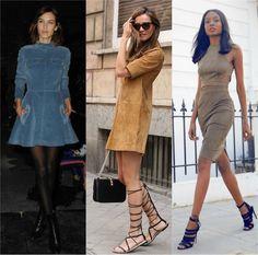 Resuminho de Moda: Tendência: Suede - como usar em 7 lindas maneiras!