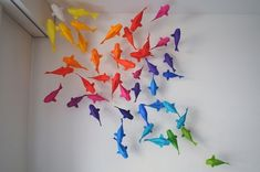 One Fish Two Fish, Red Fish Blue Fish | Community Post: 31 Unbelievable Pieces Of Origami Art