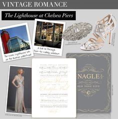 Vintage romance - Aisle Style - Ceci Johnson's design guide for the New York City bride - CeciStyle Magazine V181