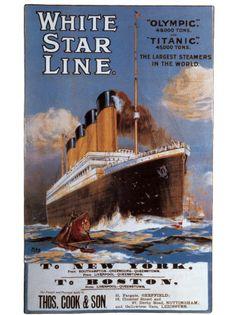 White Star Line Kunstdruck