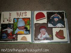 this is neat, an ABC book scrapbooked with pictures of your child.