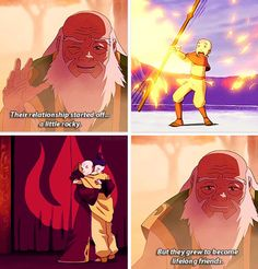 Iroh(I think from in Legend of Korra, because he never said this in the Last Airbender) talking about Aang and Zuko Iroh, Korra Avatar, Team Avatar, Legend Of Aang, Got Anime, Avatar Series, Avatar The Last Airbender Art, Korrasami, Pokemon