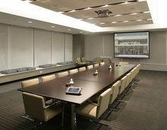clean design - conference room