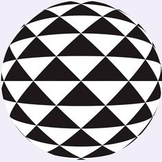Triangle sphere by Marco Braun, via Flickr