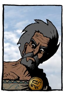 Othniel - I have completed or drawn up 7 chapters of The Book of Judges now (of 21 Chapters). The stories of Othniel, Ehud, Shamgar, Deborah, Barak, Jael, Samson and Delilah all included within. Next to tackle will be the Song of Deborah and then onto Gideon.  Comic: The Word for Word Bible Comic #bible #comic