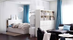 26-27 page from 2015 IKEA catalog Bed for K? add bookcases on top of the head board