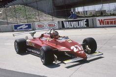 1982 Long En Course Photo by bouboum Luxury Sports Cars, Ferrari Scuderia, Ferrari F1, Long Beach, Belgian Grand Prix, Gilles Villeneuve, Bmw Classic Cars, Formulas, F1 Racing