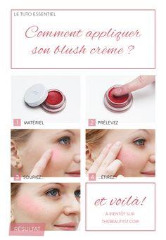 Comment appliquer son blush crème ? C'est notre tuto photo !
