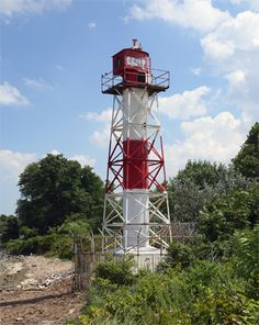 Conover Beacon #Lighthouse - #New #Jersey at Lighthousefriends.com   http://www.roanokemyhomesweethome.com