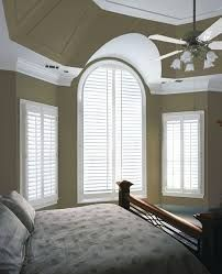 Fauxwood Interior Shutters by The Shade & Shutter Factory are made from high quality synthetic materials that resist warping and cracking.