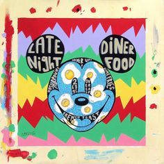 "tennessee loveless | Eight Eggs Over Mickey"" By Tennessee Loveless - Original Acrylic on ..."