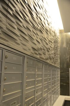 This is how the mailroom looks like in 73 E Lake #Chicago