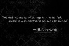 hp lovecraft quotes - Google Search