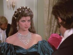 Kirstie Alley as Virgilia Hazard North and South Tags: costumes film costume tv down civilwar hollywood drama miniseries liztaylor cicilwar patrickswayze northandsouth leslieanne johnjakes thenorthsouth lesliedown patswayze North And South, Civil War Movies, Kirstie Alley, The Mont, Scarlett O'hara, Patrick Swayze, World Best Photos, Classic Movies, Good Movies