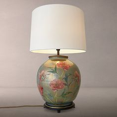 Buy Jenny Worrall Flower Large Round Lamp Base, Multi Online at johnlewis.com