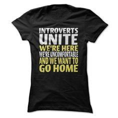 Introverts Unite  We're here We want to go home