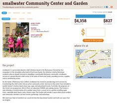 Totally awesome project to rebuild post-Sandy. A new community garden for the Rockaways. Donations are matched by Jack Johnson: https://ioby.org/project/smallwater-community-center-and-garden