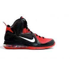 Nikeid Lebron 9 Samples Black Red White