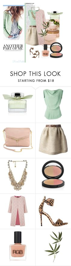"""""""Monica Botkier"""" by divadebbi ❤ liked on Polyvore featuring Chloé, Vivienne Westwood Anglomania, Botkier, MSGM, Kate Spade, Le Métier de Beauté, St. John, Gianvito Rossi, RGB and Crate and Barrel"""