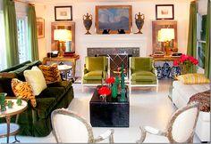 Mary McDonald - latest redo of her living room Formal Living Rooms, Living Spaces, Modern Living, Living Area, Mary Mcdonald, Best Leather Sofa, Couch Set, Cote De Texas, Interiors