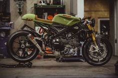 Custom Ducati 848 Evo Racer built by NCT Motorcycles from Germany. Check the pictures of this radical looking machine!