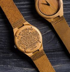 Engraved Wooden Watch For Husband - Forever Love Gifts Surprise Gifts For Him, Gifts For Fiance, Great Gifts For Men, Love Gifts, Diy Gifts, Geek Gifts, Perfect Gift For Boyfriend, Gifts For Your Boyfriend, Customized Gifts For Boyfriend