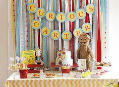 Curious George birthday party idea