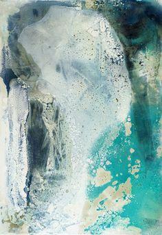 "Saatchi Art Artist: Fintan Whelan; Pigments 2014 Painting ""Soft face II"""